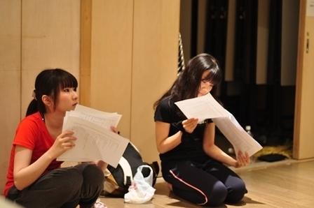 永田祥子(左)仲田沙良(右)