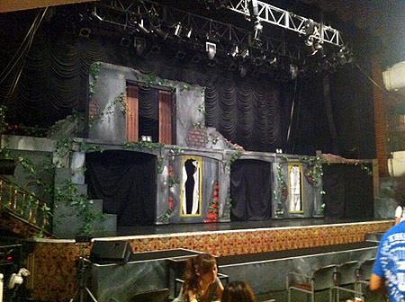 舞台装置!