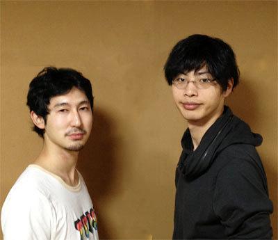 キリンにhighキック出演者(右:南川太郎 左:叶健太)