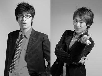 左:岩松毅 右:山本駿
