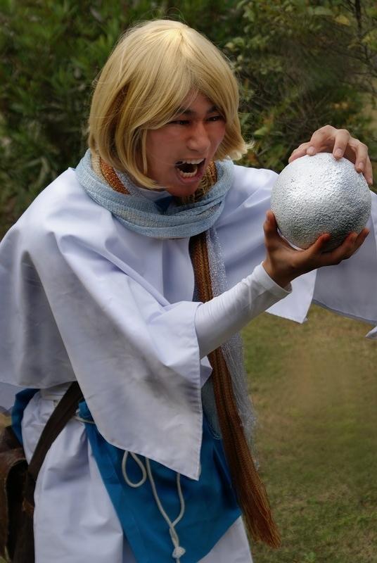 Final Quest。パンフ用写真。トマス!