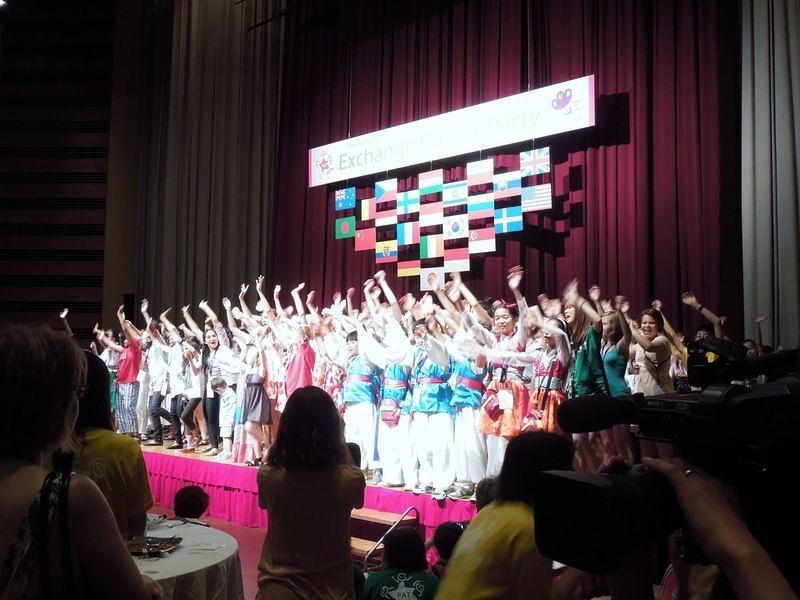 とやま世界こども舞台芸術祭2012  交流会