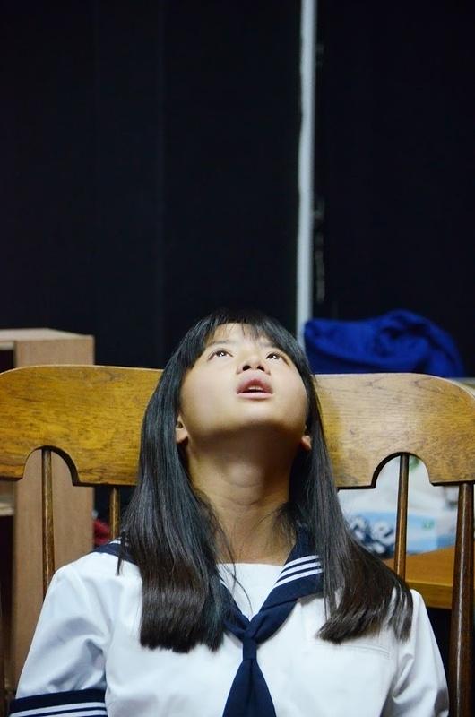 スタジオ稽古・吉水雪乃