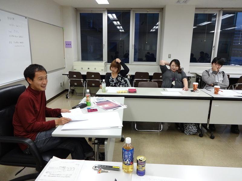 台本読み合わせ・6 (11/4/2013)