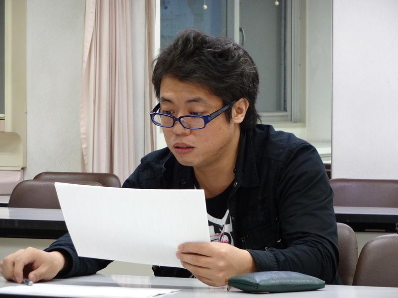台本読み合わせ・7 (11/4/2013)