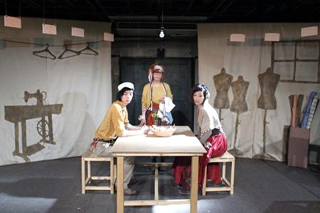3人の「さよならの絲(いと)」舞台風景3