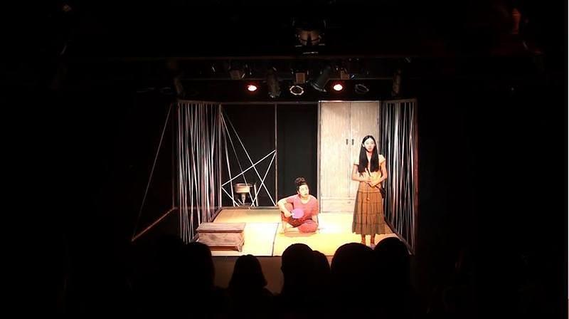 「四畳半の翅音」@釜山公演