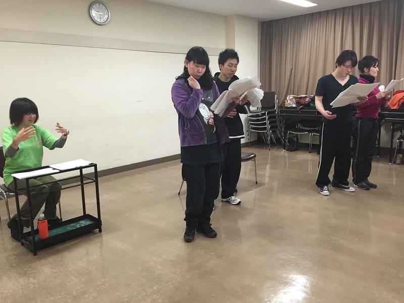2/17 青組稽古①