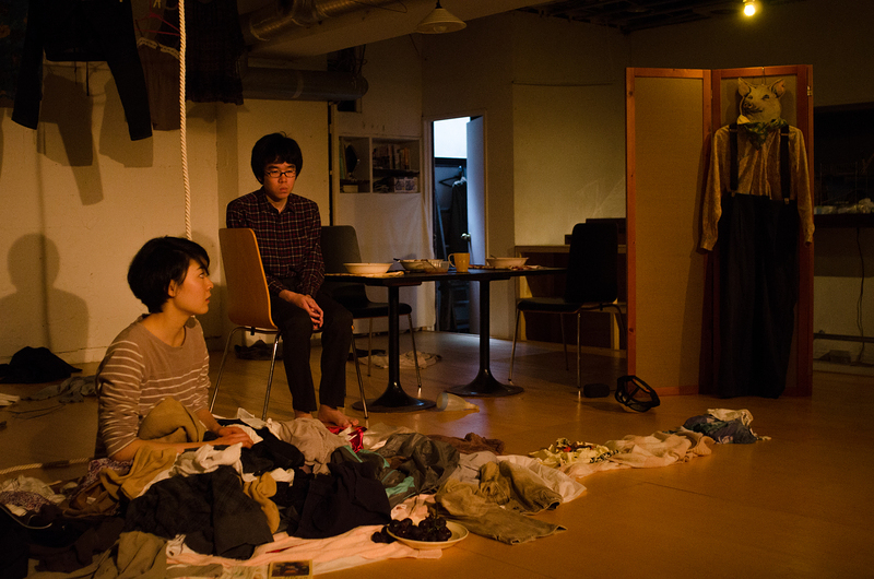 『フランドン農学校の豚』(2014)舞台写真