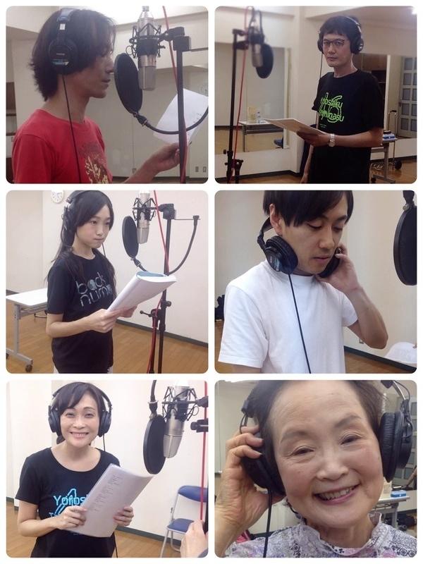 硝子の途(再演)劇中歌 販売用CD歌録り1
