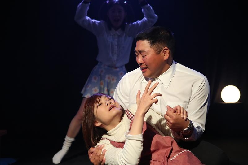 「愛ごっこ、夢ごっこ」舞台写真/夢組3