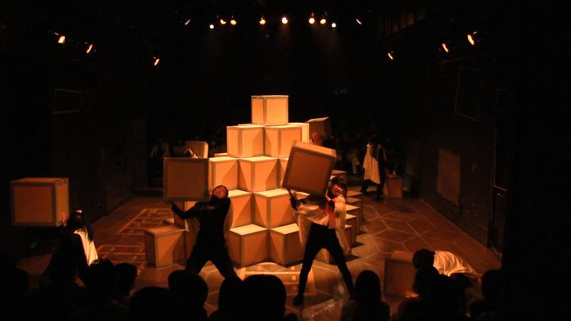 キューブ舞台写真3