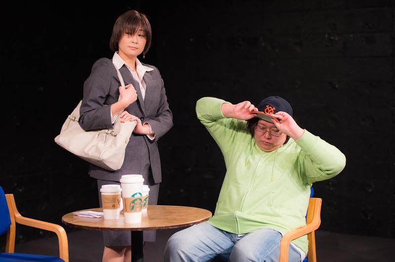 「隕石はこめかみをめがけて」舞台写真
