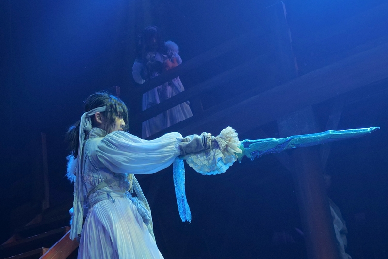 「二ツ巴」舞台写真