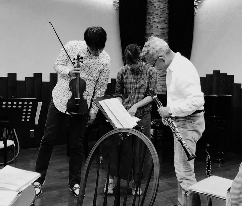 ヴァイオリン・ピアノ・クラリネット