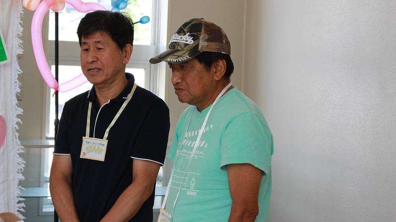 会場スタッフでお手伝いに来てくださった大谷さんと山﨑さん