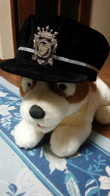 隊長さんの帽子完成!