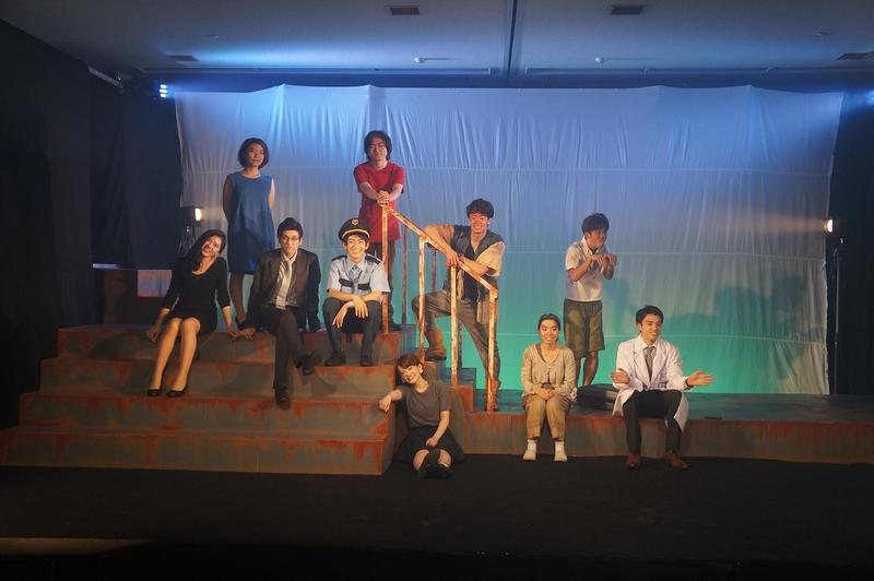 『太陽』役者と演出