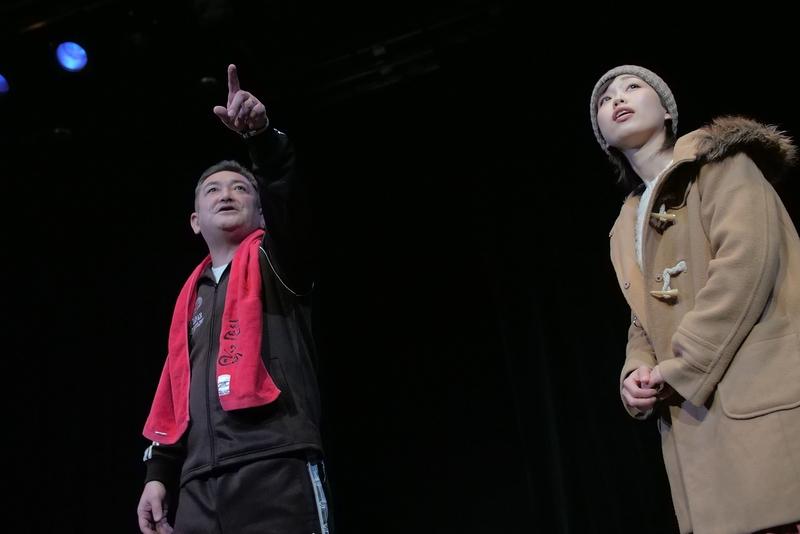 「源八橋西詰」舞台写真-2(撮影:堀川高志)