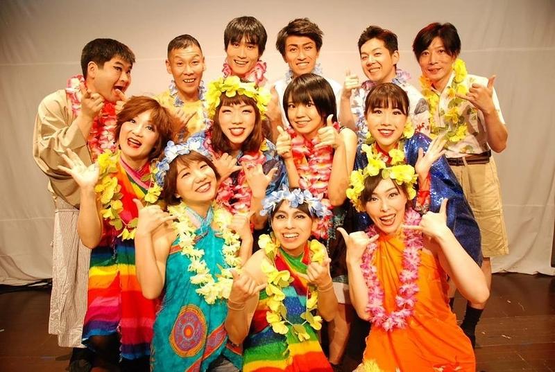 娯楽座の大忘年会!2018年のテーマは「ハワイ」