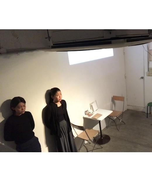 2018年2月Design Festa Gallery原宿にて