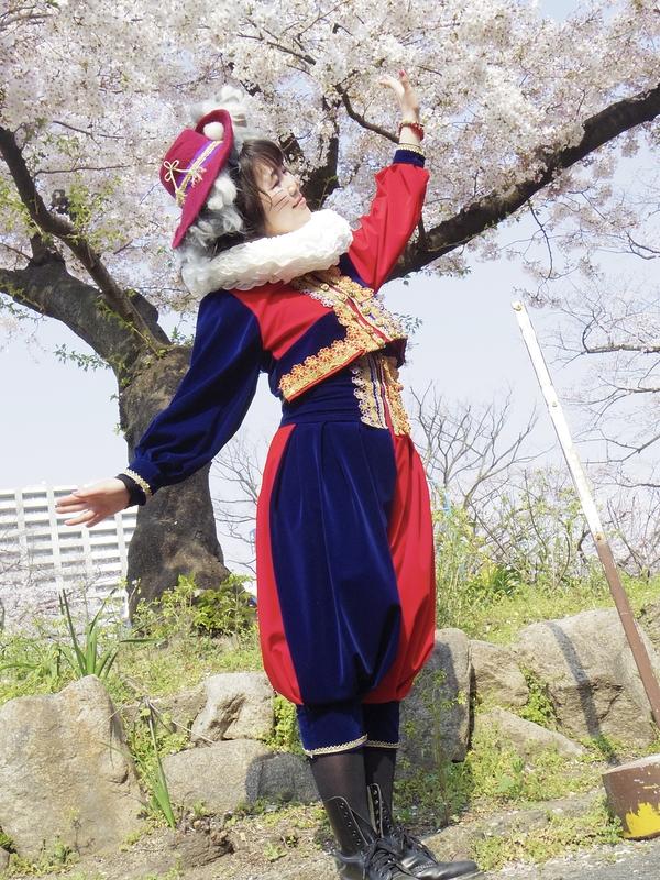 にゃん蛮人と桜