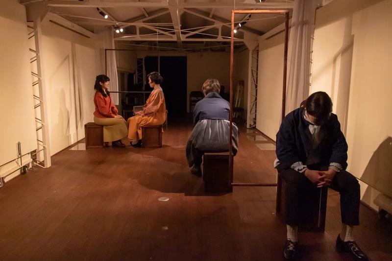 「ふたりぼっちの世界革命」公演写真