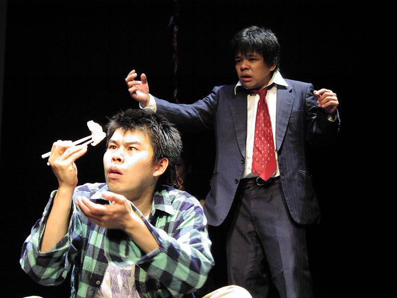 福岡公演「男亡者の泣きぬるところ」