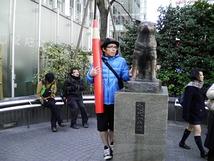 赤ペン瀧川先生とハチ公