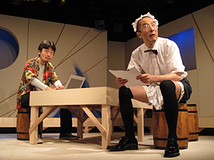 第12回公演 『ファミレスが海賊でバックステージ』舞台写真