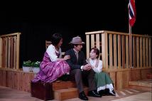 「海の夫人」舞台写真 ②