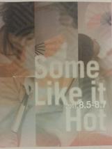 Some Like It Hot チラシ