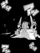 漫画風「三人のランナー」