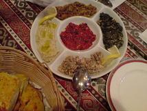 稽古後のトルコ料理