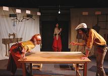 3人の「さよならの絲(いと)」舞台風景2