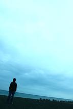 水平線の歩き方ポスター写真