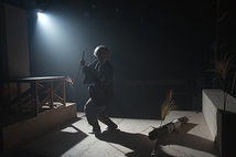 『黒塚』初演時舞台写真