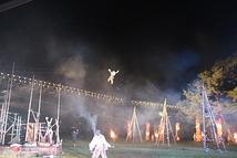 「かなかぬち」南木曽町桃介橋野外公演