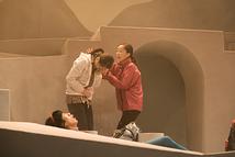 坂田さん(母)と登山部の吉田さん