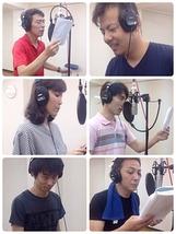硝子の途(再演)劇中歌 販売用CD歌録り2