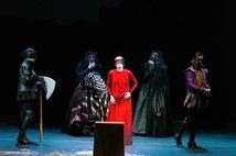 「エリザベス1世」舞台写真