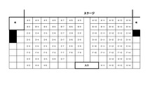 サンモールスタジオ座席表