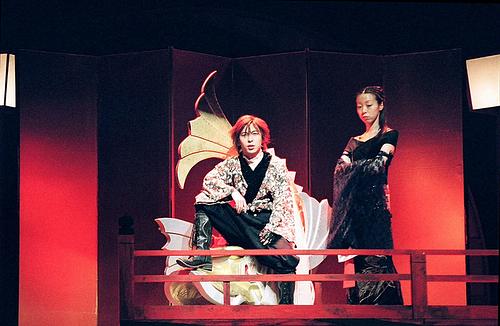 信長(西田大輔)&お濃(田中良子)