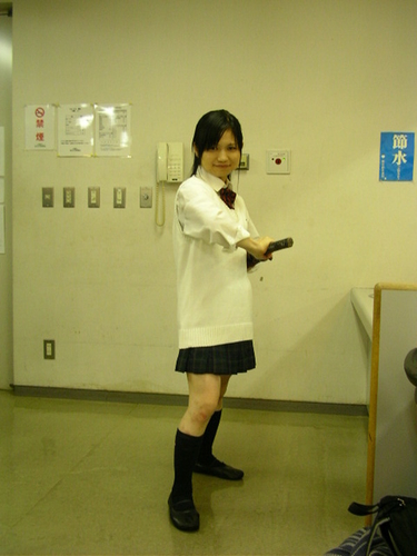 女子高生剣士