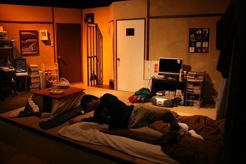 佐藤の部屋はアンニュイな趣き