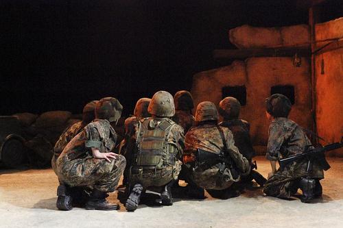 過去舞台写真「傭兵ども!砂漠を走れ!-サバンナ&オアシス-」①