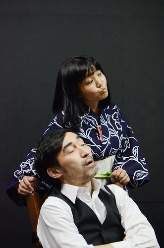 スタジオ稽古・谷仲、吉水恭子