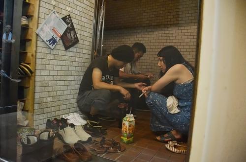 スタジオ稽古・堀、祥野、山村