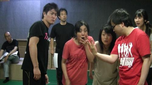 2013年8月公演「こどもの一生」稽古風景1