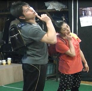 2013年8月公演「こどもの一生」稽古風景2